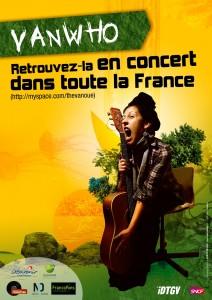 Vanwho en concert à Sacé le 26 août 2011